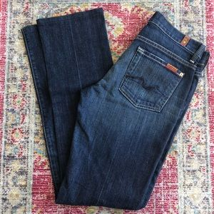 7 for all mankind straight leg jeans size 26